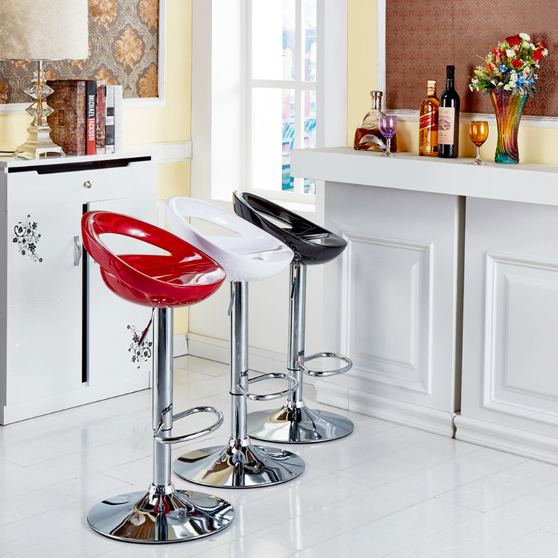 2PCS/Set Bar Stool Kitchen Chair Adjustable High Stool Chairs Modern Living Room Home Office Kitchen Chair Fast Shipping HWC