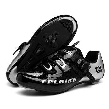 New MTB Sneakers Men Women Cycling Shoes Self-locking Road MTB Bike Sneaker Professional Damping Size 36-46 Sports Shoes 8