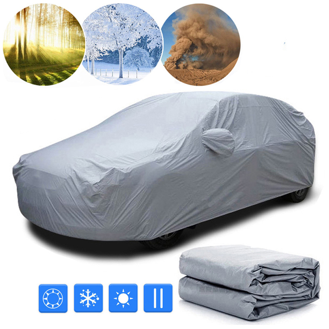 Car Front Wndow Cover/Full Cover Sun Shade Protector Outdoor Wind Dust Snow Rain Protective Cover Auto Accessories Styling 1