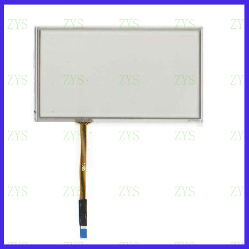 ZhiYuSun  ZXYS For Pioneer AVIC-F860BT  This Is   Compatible 6inch 4-wire Resistive Touch Panel For Car DVD GPS Navigator