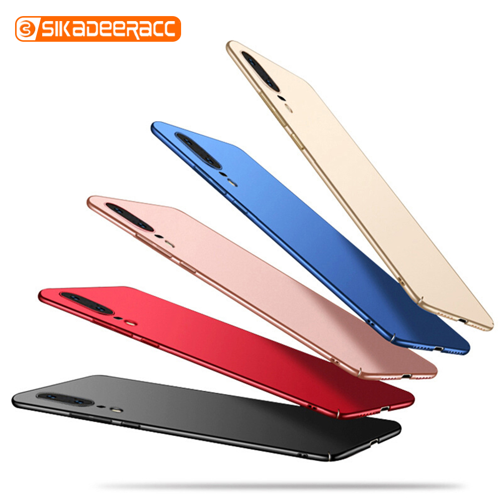 Ultra Thin Matte Phone Case For Huawei P30 Pro P20 Lite P10 Plus 3i 4e Nova 5i Slim Hard PC Shockproof Full Protection Anti-fall