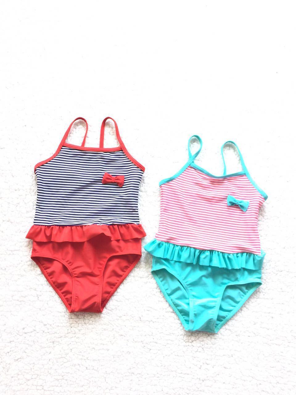 Europe And America One-piece Swimming Suit Ultra-stretch Quick-Dry Anti-UV KID'S Swimwear Women's
