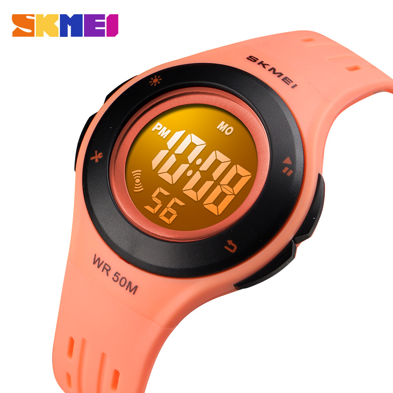 SKMEI Fashion Children LED Digital Watch 5Bar Waterproof Kids Sport Watches For Boys Girls Wristwatch Montre Pour Enfants Clock
