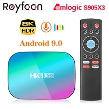 HK1 BOX 8K 4GB 128GB TV Box Amlogic S905