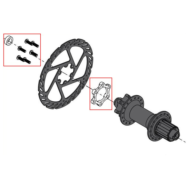 Screws Accessories Parts Durable Front//Rear Hub Adapter Thru Axle Boost Fork