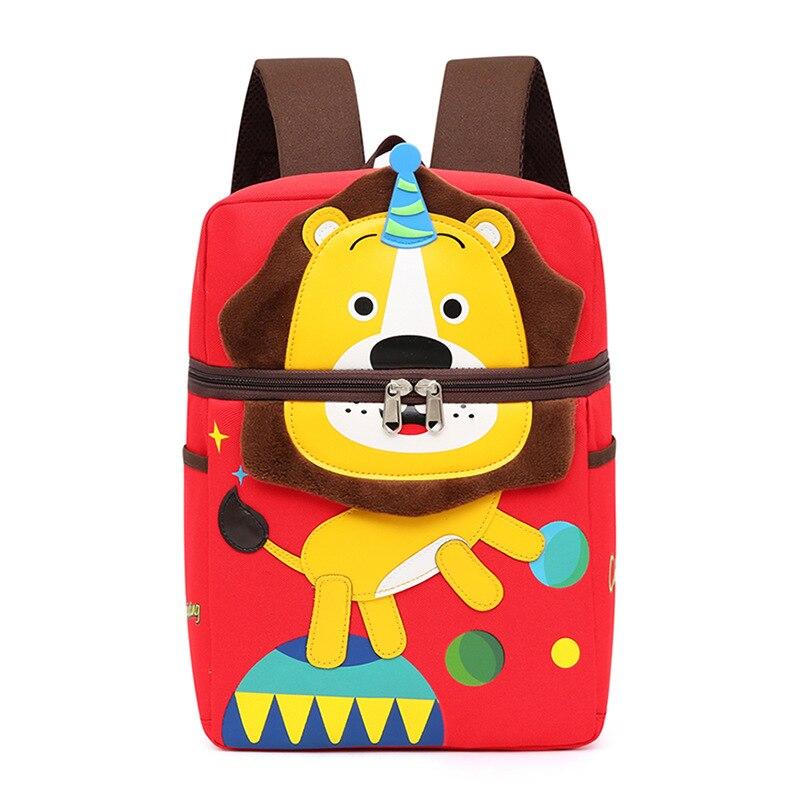 Shoulder Bag children's backpack Cute Anti-lost Boy Girl Backpack Kids Girls Bag schoolbag children lost cartoon stereo backpack