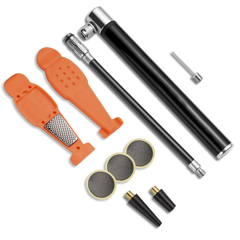 Portable Bike Bicycle Flat Tire Tyre Repair Kits Rubber Patch Multi Tools New