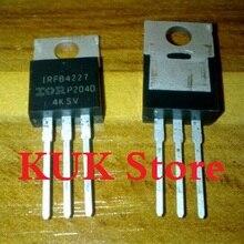 Real 100% Original NEW IRFB4227 IRFB4227PBF FB4227 MOSFET 200V 65A TO-220 20PCS/LOT u30c20c to 220 200v 30a