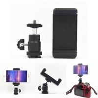 Adaptador de zapata para teléfono móvil, soporte de montaje para Nikon, DSLR, SLR, 1/4