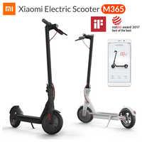 Xiao mi m365 mi Scooter électrique mi jia Smart e Scooter Skateboard mi ni pliable Hoverboard Patinete Electrico adulte 30km batterie