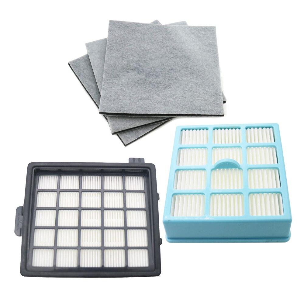 High Quality 2pcs Hepa Filter & 3pcs Motor Cotton Filter For Philips FC8134 FC8135 FC8136 FC8142 FC8146 FC8148 FC8140 FC8144