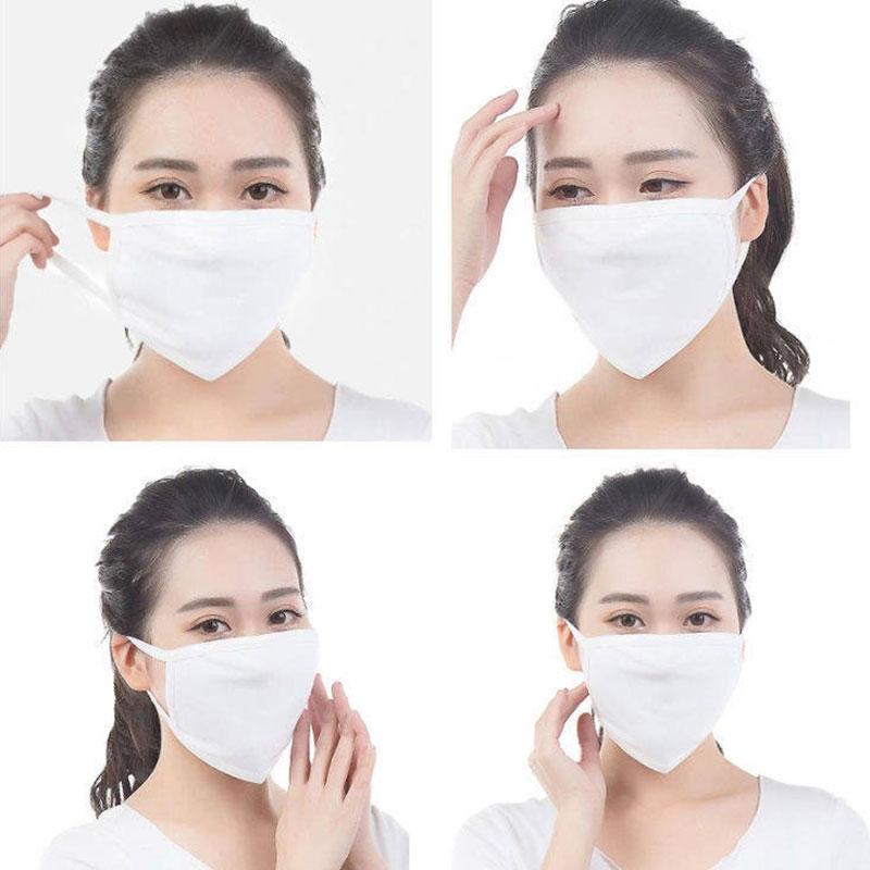 1pcs Health Cycling Anti-Dust Virus Mouth Mask Respirator Warming Wearing Windproof Cotton Unisex Mask Mouth-Muffle Face 2020