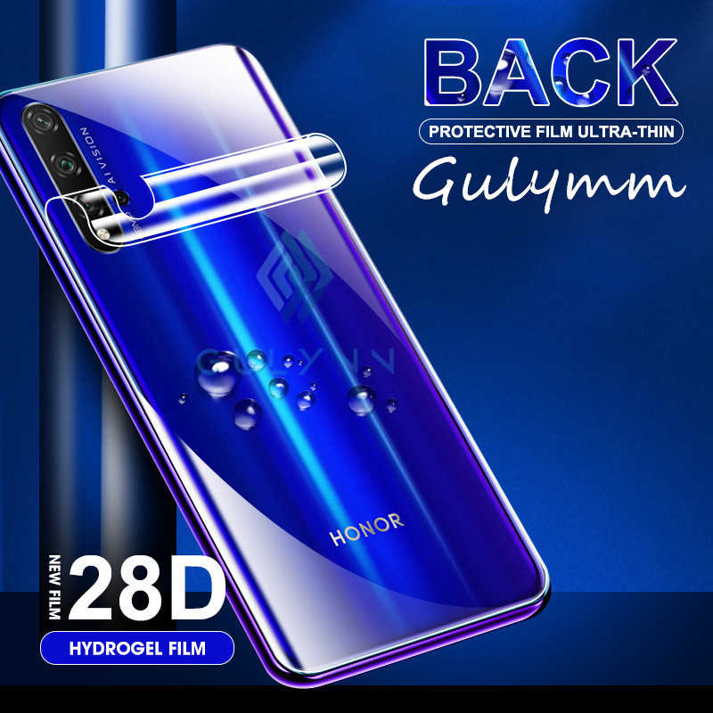 28D Rückseite Full Weiche Hydrogel Film Für Huawei P Smart 2019 P30 Mate 30 Lite Pro Nova 5i 5t Screen Protector Für Honor 9X20