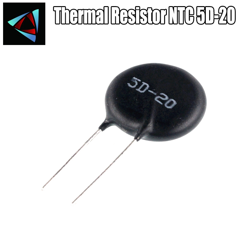 2pcs Thermal Resistor NTC 5D-20