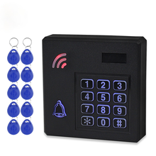 DC12V IP68 Waterproof Access Control Keypad Outdoor RFID Access Controller Door Opener System Electronic EM4100 125KHz Key Cards