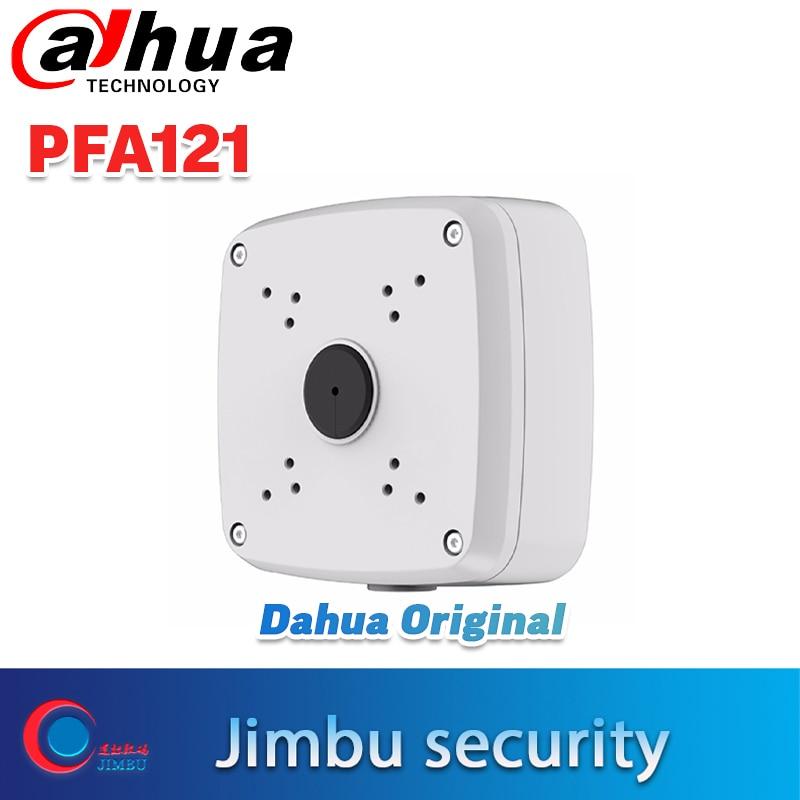 DAHUA Mount IP Bullet Camera Brackets Junction Box PFA121 Support IP Camera IPC-HDW4631C-A CCTV Accessories Camera