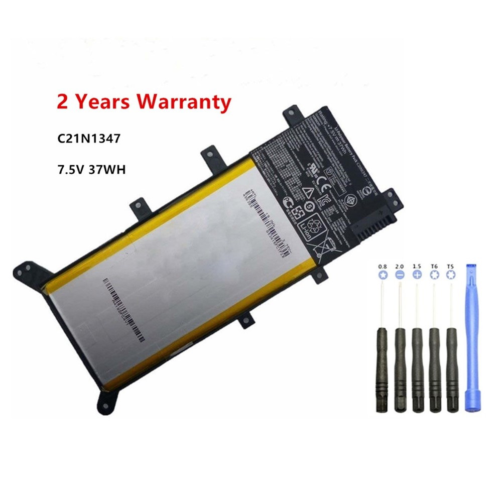 7.5V 37WH Laptop Battery For ASUS X554L X555L X555LB X555LN X555 X555LD X555LP F555A F555U W519L F555UA VM C21N1347
