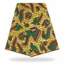 Veritable Wax Guaranteed Real Dutch 6yard/lot 2020 hot High Quality African Fabric Print Sewing