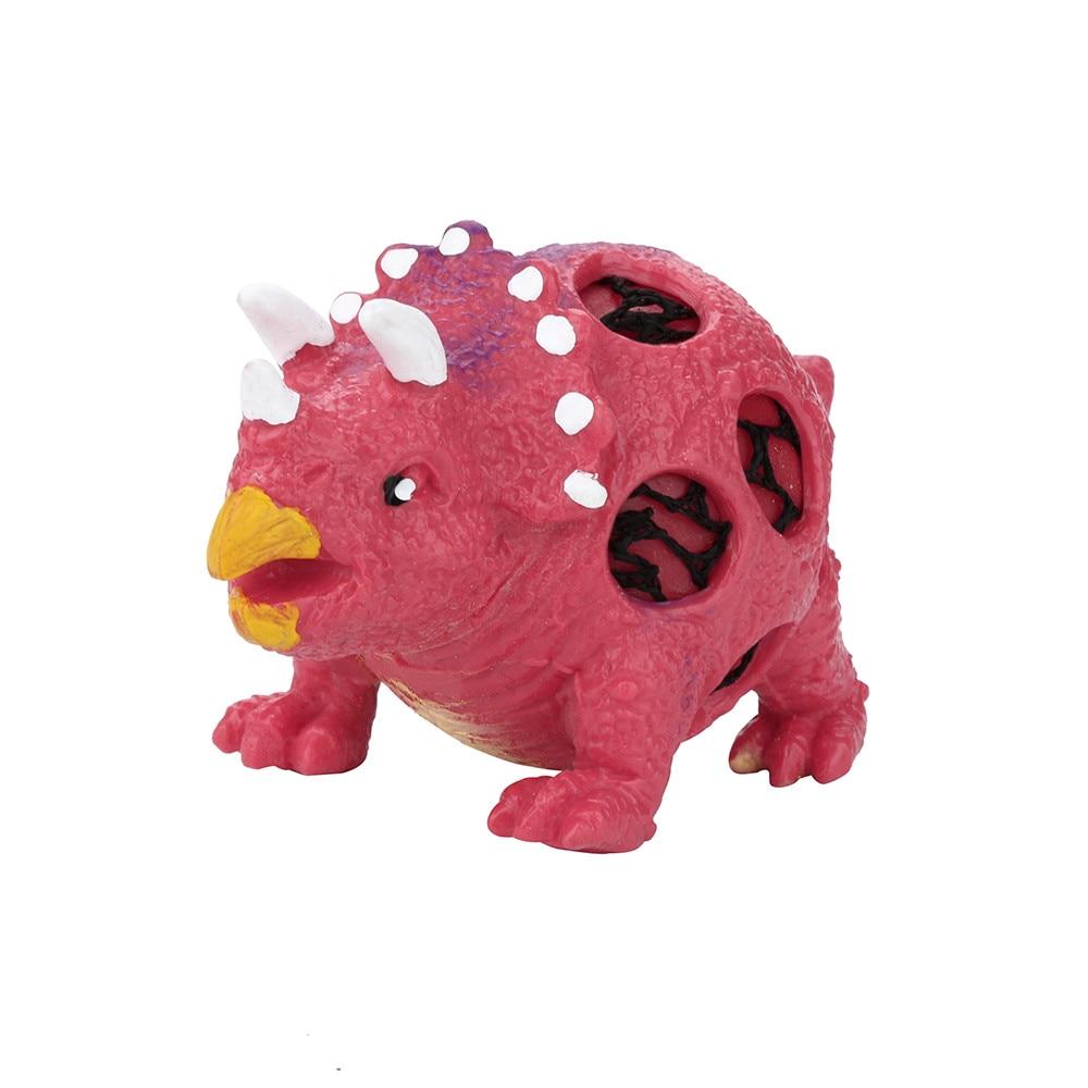 Balls Fidget-Toys Dinosaur Stress Squeeze-Pressure Relief-Toy Pops-It-Cute Model-Grape img5