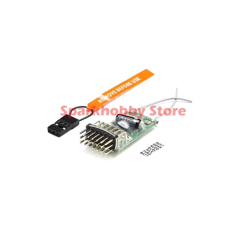 6100E 2,4G 6CH Microlite DSM2 Compatible Spektum JR Gama Completa De CM621 Receptor