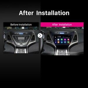 Image 3 - Seicane 2Din 헤드 유닛 안드로이드 10.0 멀티미디어 플레이어 자동차 라디오 2014 2015 2016 현대 Elantra 자동 스테레오 지원 RDS