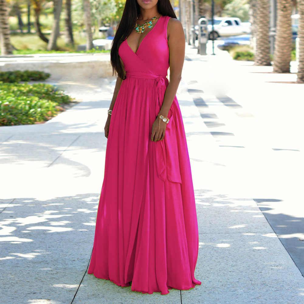 Kontrastowa suknia wieczorowa damska bez rękawów A-Line eleganckie sukienki studniówkowe z kieszonkowym nadruk w stylu Vintage robe de soiree
