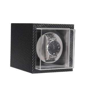 Organizer Watches-Box Jewelry Display Carbon-Fiber Automatic Motor Shaker Storage-Case