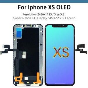 Image 5 - 10 adet en kaliteli ekran iPhone X XR XS lcd ekran OEM 1:1 dokunmatik Panel ekran Digitizer meclisi OLED yedek LCD