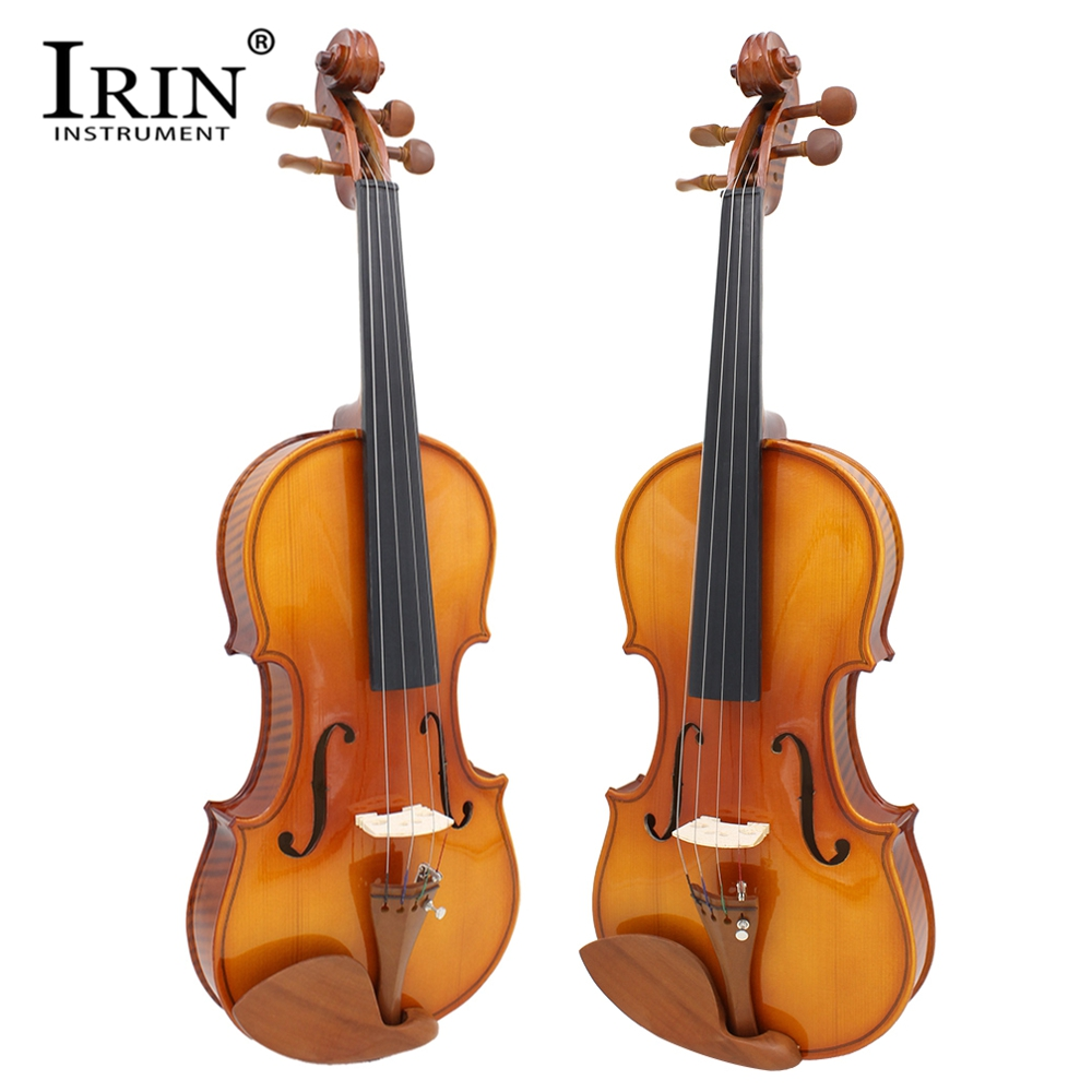 IRIN Full Size Violin Solid Wood Playing Professional Violin With Accessories Set For Stage Playing Test