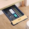 Настольный скрытый ящик для хранения, ящик для ручки, вставленный без гвоздей, с замком для карты, ящик для хранения, ящик для косметики