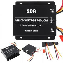 20A 360W DC 24V to 12V Power Converter Electric Inverter Voltage Reducer Step-down Transformer New dhl new 220 v to 110 v 2500w step down voltage converter transformer converts 2500 watts