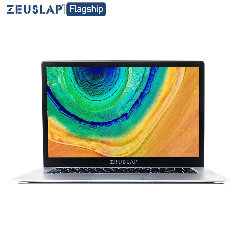 15.6inch Intel Celeron CPU Ultrathin Laptop Win10 System Dual Band WIFI 1920X1080P FHD IPS Screen Notebook Computer PC