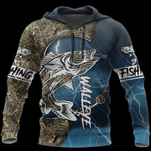 PLstar CosmosWozoro 3D All Over Printed Shirt Walleye Fishing Hoodie Men Women Hooded Sweatshirt all over printed open shoulder dress