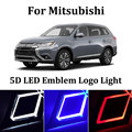 1 шт. Автомобильный светодиодный фонарь Передняя Автомобильная подсветка логотипа 5D автомобильный значок авто светодиодный свет лампы EL хо...
