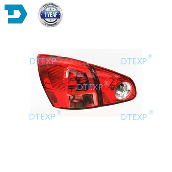 Tail Light For Nissan Qashqai Dualis J10 2008 2009 2010 2011 2012 2013 2014 2015 Rear lamp no bulb roof rack boxes side rails bars luggage carrier a set for nissan qashqai 2008 2014 2009 2010 2011 2012 2013