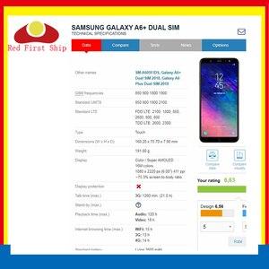Image 4 - 10 sztuk/partia ekran dotykowy do Samsung Galaxy A6 2018 A600 panel dotykowy przednia zewnętrzna szkło obiektywu A6 + A6 Plus A605 ekran dotykowy LCD szkło