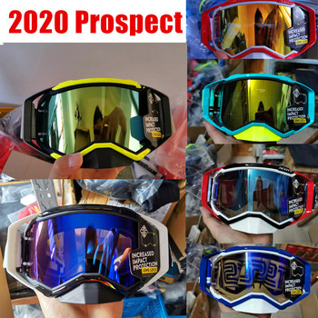 2020 Prospect Motocross Goggles Mountain Bike Goggles MX ATV MTB Goggle Dirt Bike Off Road Moto Goggle Motorcycle Helmet Glass