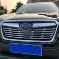 WELKINRY car cover auto per Subaru Forester SK 2019 2020 ABS chrome frontale testa dell'aria di aspirazione griglia di montaggio trim