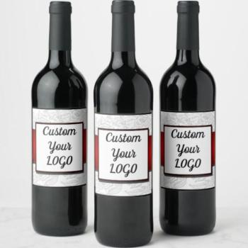 DIY Wine Bottle Labels