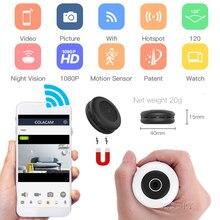 H11 Küçük mini wifi kamera Manyetik HD 1080P 6 adet IR Gece Görüş Hareket Sensörü Uzaktan Kumanda Mikro Kam Desteği Gizli TF C gizli kamera secret camera