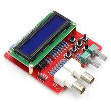 Kits diy avr dds v2.0 função gerador de sinais módulo seno/triângulo/onda quadrada senoidal, quadrado, serra, rev triângulo, ecg ruído
