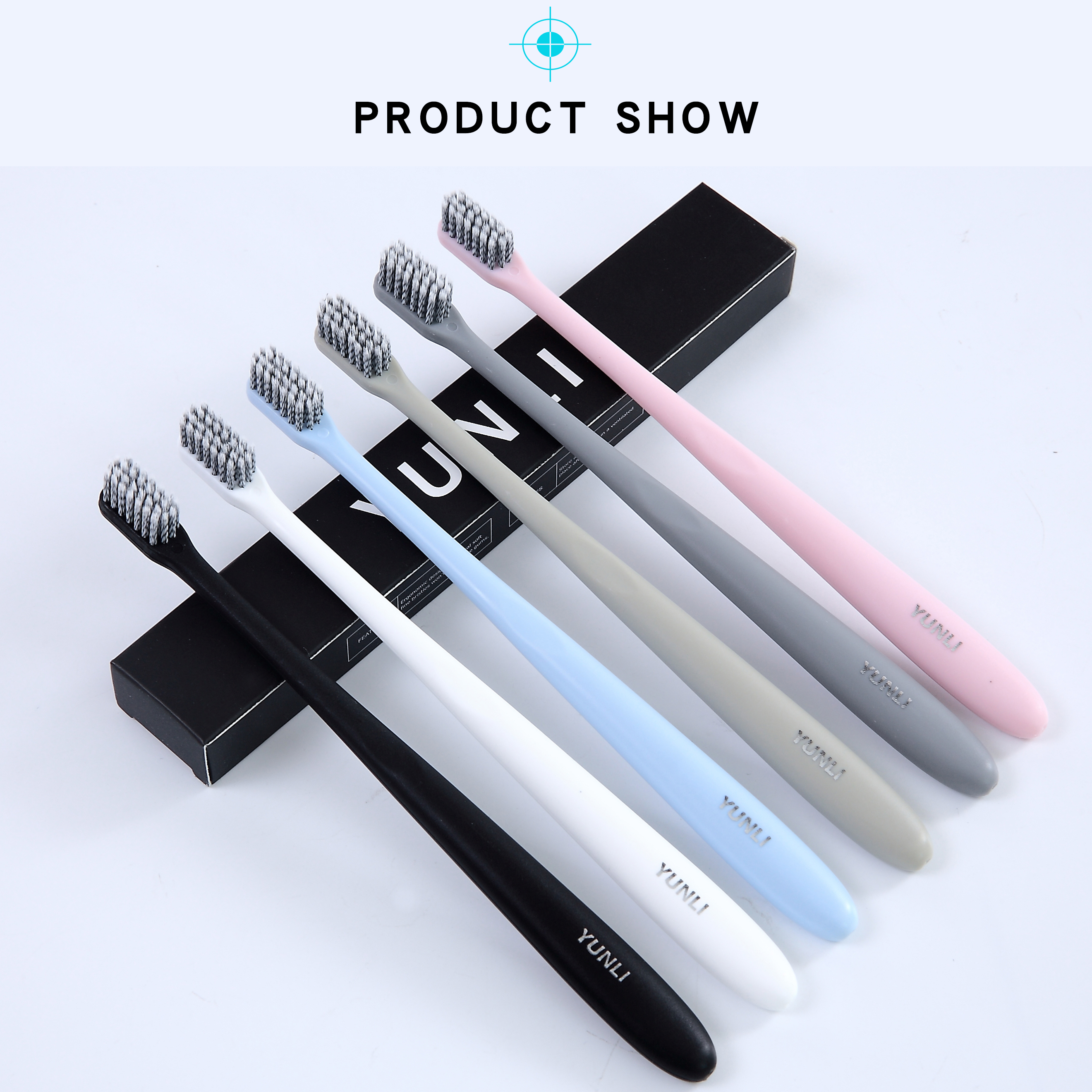 YUNLI 6 With Multi-color Super-soft Toothbrush With Independent Packaging, Suitable For Sensitive Gingiva Of Adults And Children