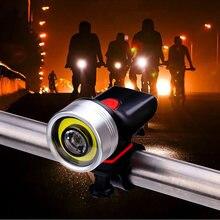 Велосипедный светильник водонепроницаемый usb зарядка переднего