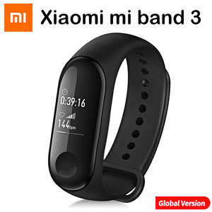 Image 5 - Original Xiao mi mi Band 4 และ 3 สมาร์ทสายรัดข้อมือ mi band สร้อยข้อมือ Heart Rate Fitness Track หน้าจอสัมผัส pulsera intelgent นาฬิกา