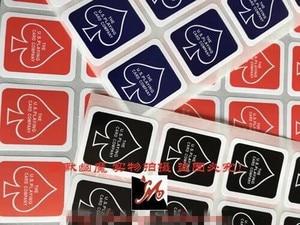 30 листов Bycicle чехол с изображением игровой карты коробка колода печать наклейка волшебный трюк 24 на 1 лист 3 цвета на выбор Аксессуары Magia игр...