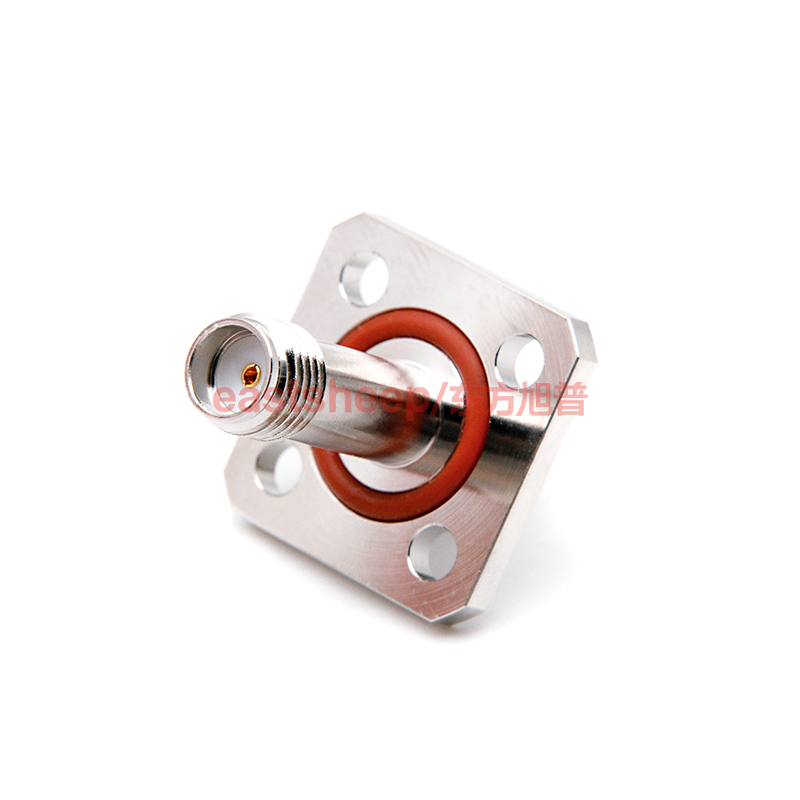 eastsheep RF connector SMA-KFK-2 SMA-KKF SMA female to SMA female flange fixed with waterproof rubber ring 3