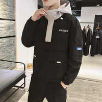 MEN'S Coat 2019 Korean-style Men'S Wear Handsome Versatile Baseball Clothes Casual Students Workwear Spring And Autumn Jacket Me
