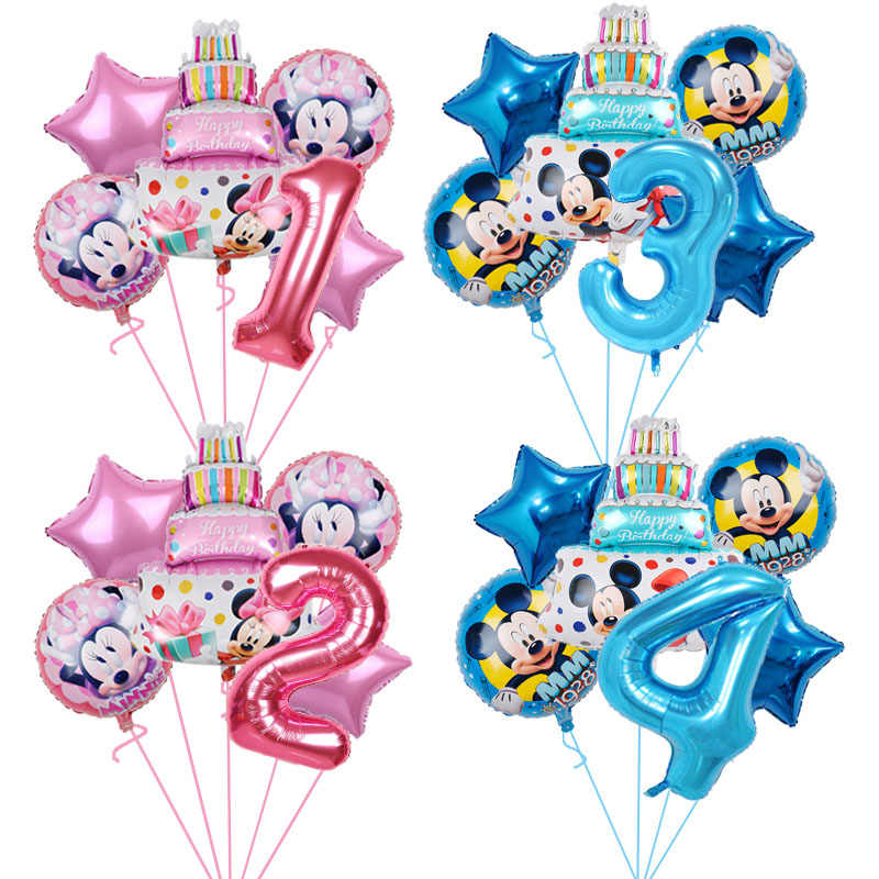Minnie Mouse party favor birthday party balloons