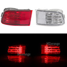 For Toyota Land Cruiser Prado(J120) GRJ120 TRJ120 FJ120 2002-2009 Rear Bumper Reflector light Brake Lights Tail Stop turn signal
