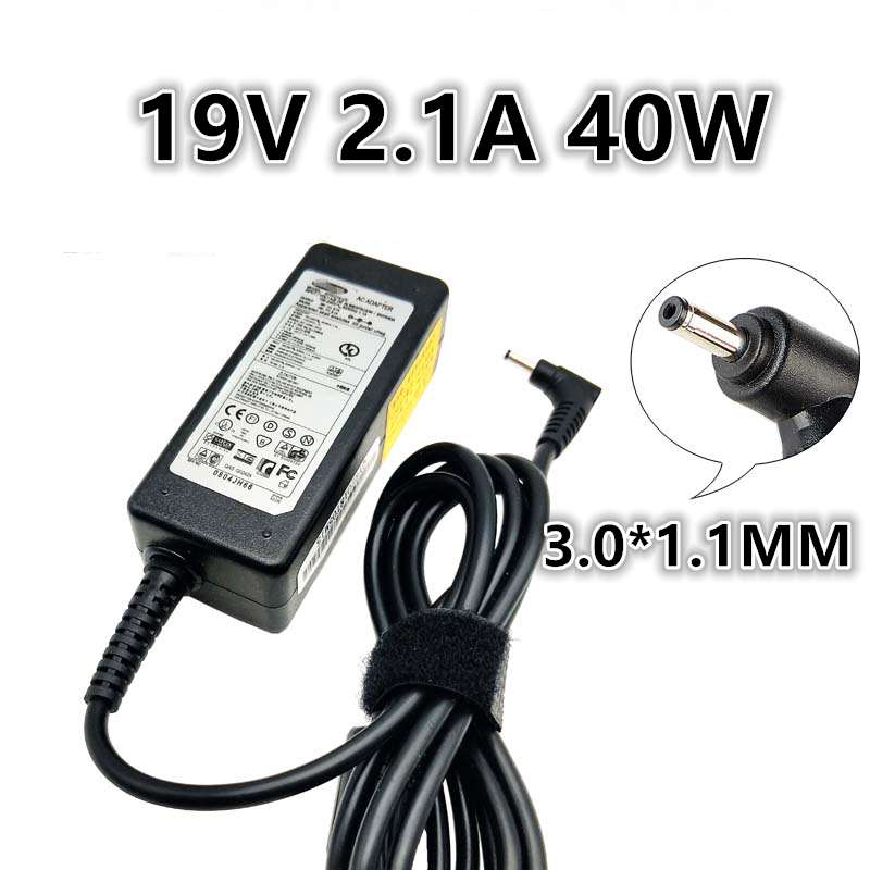 19V 2.1A 40W Universal Power Adapter Charger For <font><b>Samsung</b></font> <font><b>905S3G</b></font> 905S3K 910S3G 915S3G/L 910S5J 930X5J 900X1B 900X3A 900X3G 900X3C image
